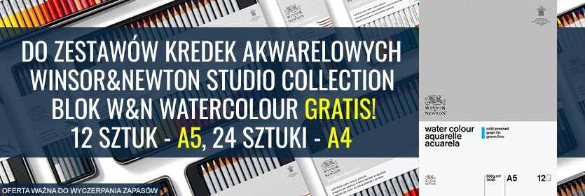 W&N-kredki-akwarelowe+blok