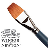 W&N synthetic sable one stroke