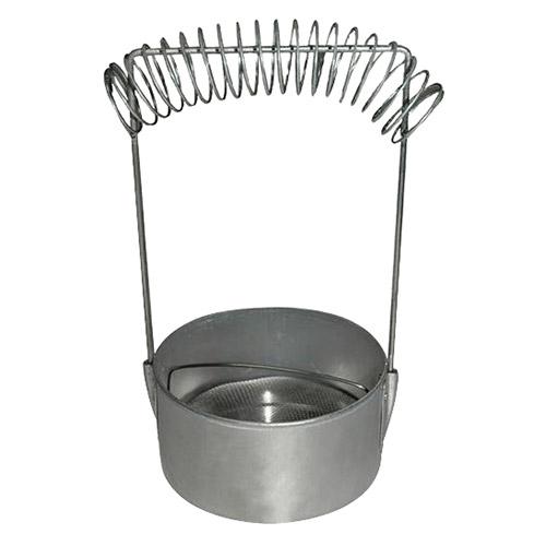 Pojemnik do mycia pędzli aluminiowy