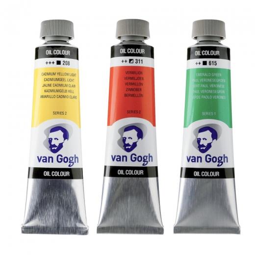 Talens van gogh farby olejne 40ml