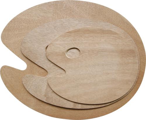 Paleta drewniana owalna