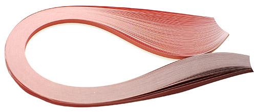 Paski do quillingu, cieniowane czerwone 3, 5, 10 mm