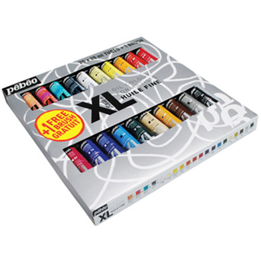 Pebeo XL zestaw farb olejnych 20x20ml