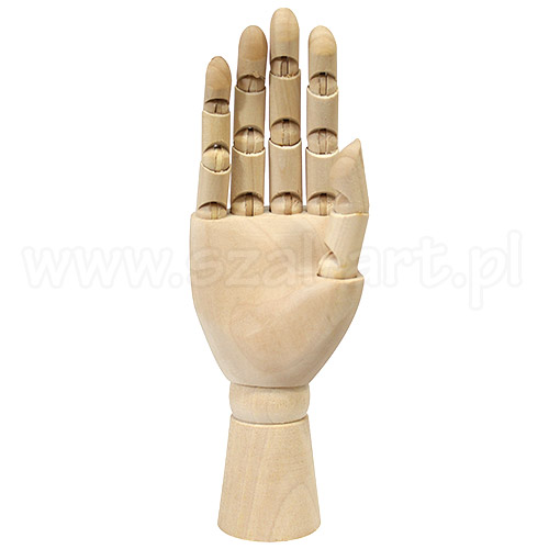 Model dłoni prawej 15cm
