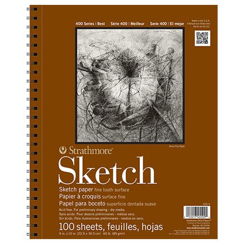 Blok Strathmore s.400 sketch 89g 100ark