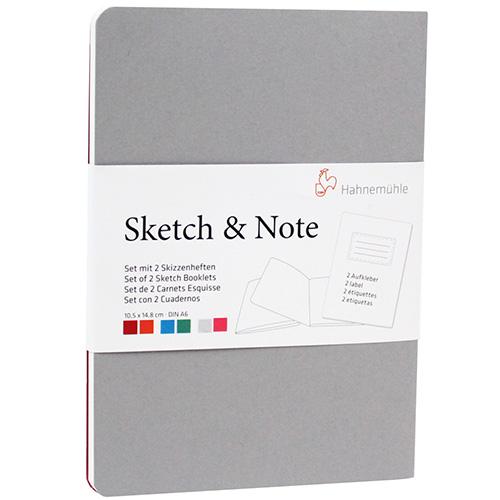 Szkicowniki Hahnemuhle sketch-note 125g 40 arkuszy 2szt G-P