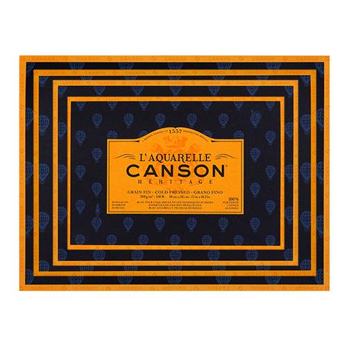 Blok Canson heritage akwarelowy drobnoziarnisty 300g 20ark
