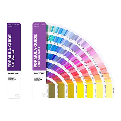 Pantone formula guide wzorniki kolorów