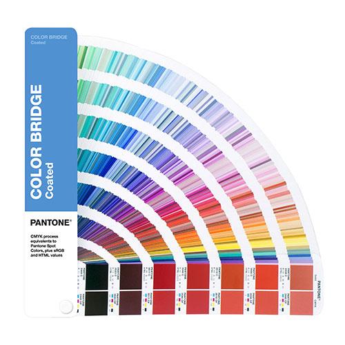 Pantone color bridge coated wzornik kolorów powlekany