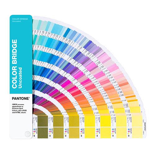 Pantone color bridge no coated wzornik kolorów niepowlekany