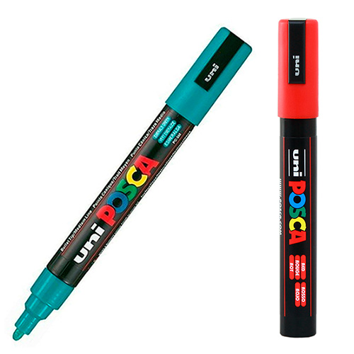 Posca Uni 1,8-2,5mm pisak z farbą plakatową