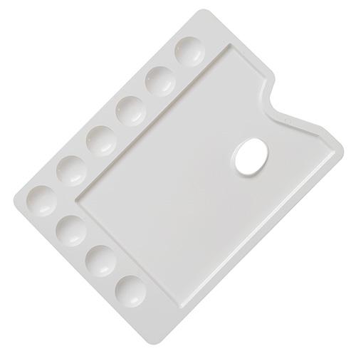 Paleta plastikowa prostokątna 22x30cm 9 komór