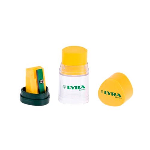 Lyra temperówka z gumką temagraph duo