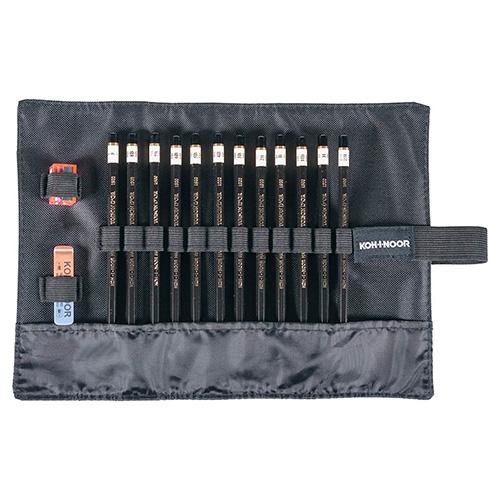 Koh-i-noor toison dor 1900 zestaw 12 ołówków w piórniku
