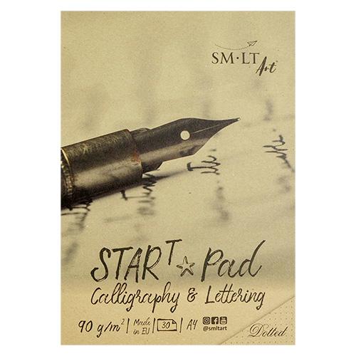 Blok SM-LT start calligraphy w kropki 90g 30ark