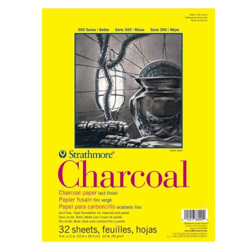 Blok Strathmore s.300 charcoal 95g 32ark