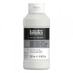 Liquitex metallic silver 237ml medium akrylowe
