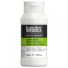 Liquitex glazing medium do laserunku