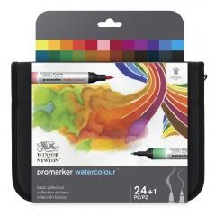 Winsor&Newton promarker watercolour zestaw 24+1