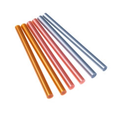 DP Craft wkłady klejowe metaliczne 7mm 6 sztuk