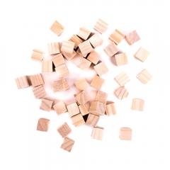 DP Craft drewniane kostki 15x15mm 49 sztuk