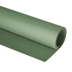 Clairefontaine paint on grey green rolka 10m x 1.30m 250g