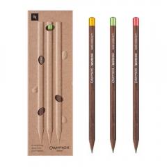Caran dAche nespresso zestaw 3 grafitowych ołówków