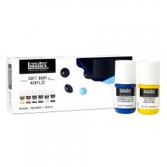 Liquitex soft body zestaw farb akrylowych 6x22ml