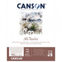 Blok Canson mi-teintes do pasteli 32x41 160g 20ark