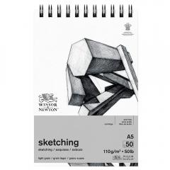 Blok Winsor&Newton sketching 110g 50ark