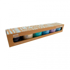 Profil textil paint zestaw farb do jasnych tkanin 6x50ml