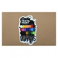 Profil textil paint wypas zestaw farb do ciemnych tkanin 24x50ml
