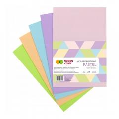 Happy Color arkusze piankowe pastel A4 5 kolorów