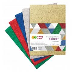 Happy Color arkusze piankowe brokatowe mix A4 5 kolorów