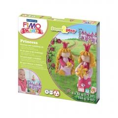 Fimo kids księżniczki form&play zestaw modelin 4x42g