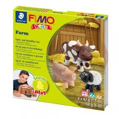 Fimo kids farma form&play zestaw modelin 4x42g
