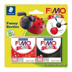 Fimo kids zestaw modelin 2x42g śmieszne biedronki