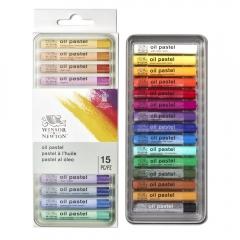 Winsor&Newton zestaw 15 pasteli olejnych