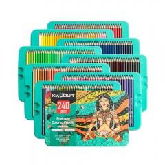 Kalour premium colored pencils expert soft touch zestaw 240 kredek artystycznych