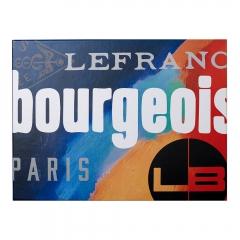 Lefranc&Bourgeois zestaw farb akrylowych 5x80 ml + 120 ml medium + pędzel