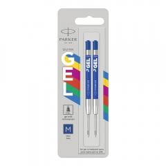 Parker wkłady żelowe do długopisu niebieskie