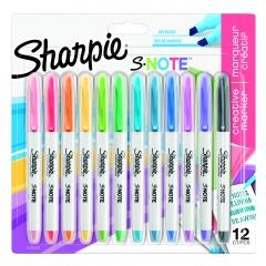 Sharpie s-note zestaw zakreślaczy 12 sztuk