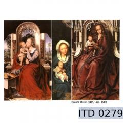 Papier do decoupage ikony 996-0279/A3