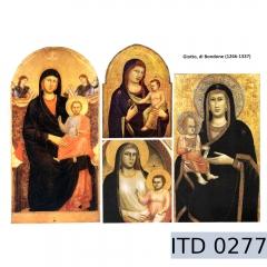 Papier do decoupage ikony 996-0277/A3