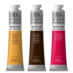 Winsor&Newton farby olejne winton 200ml