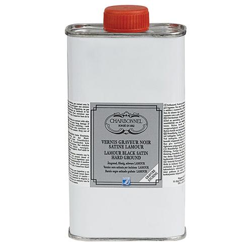 Charbonnel werniks kryjący czarny Lamour - 250ml