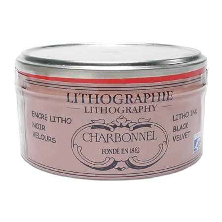 Charbonnel tusz litograficzny w paście - black velvet - 250g
