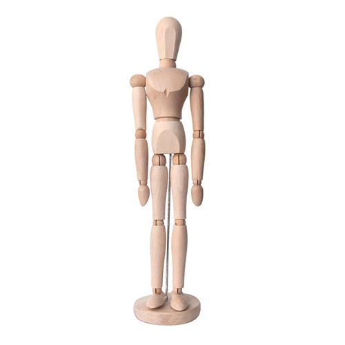 Manekin drewniany mężczyzna - wysokość 40 cm