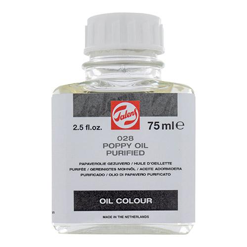 Talens oczyszczony olej makowy 75ml 028