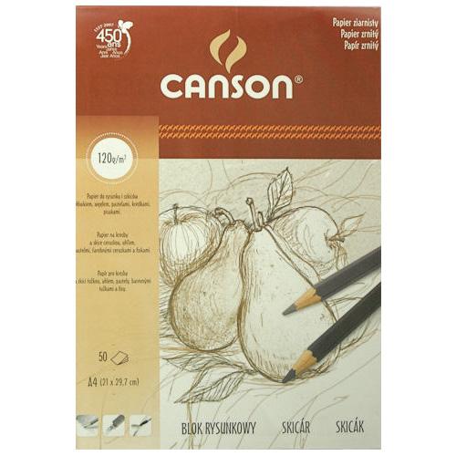 Blok Canson rysunkowy 120g 25ark